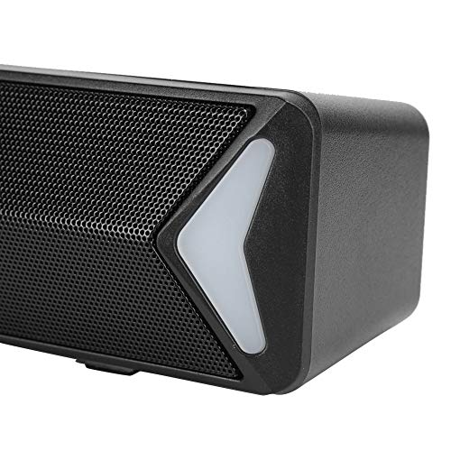 Mini altoparlanti Natural Sound Experience SADA Speaker Office for Home(black, Pisa Leaning Tower Type)