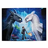How to Train Your Dragon Jigsaw Puzzles for Teens Adults 500...