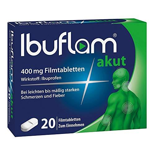Ibuflam akut 400 mg Filmtabletten, 20 St. Tabletten