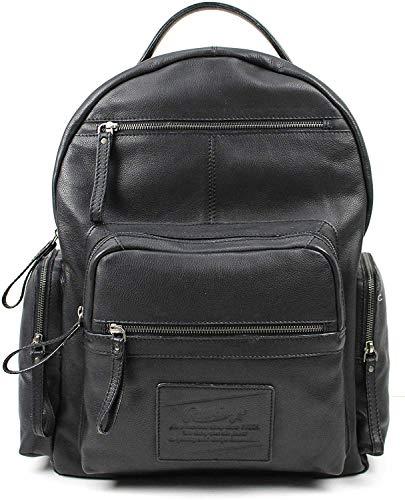 Rawlings Leather Rugged Backpack - Black