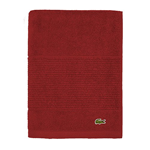 Lacoste Legend Towel, 100% Supima Cotton Loops 650 GSM -$11.99(47% Off)
