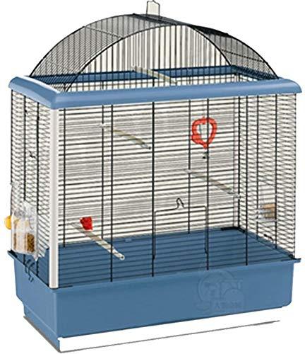 Gabbia per uccelli durevole e rispettosa dell'ambi Gabbia di volo per parrocchetti Pappagallo gabbie per grandi uccelli, gabbia per uccelli multifunzione di lusso leggero, grande staffa Cage pappagall