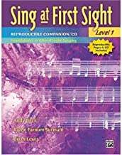 Sing at First Sight Reproducible Companion, Bk 1: Foundations in Choral Sight-Singing, Book & CD (Paperback) - Common