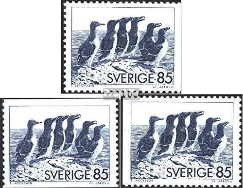 Zweden Mi.-Aantal.: 937y A,Dl,Dr (compleet.Kwestie.) 1976 Alken (Postzegels voor verzamelaars) vogels