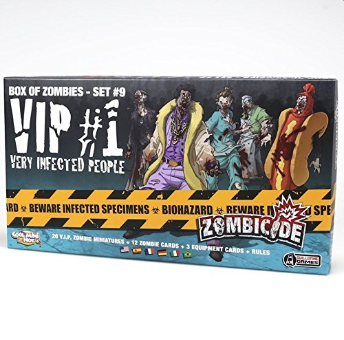 Edge Entertainment - VIP: Very Infected People 1, expansión para Zombicide (ZG68)