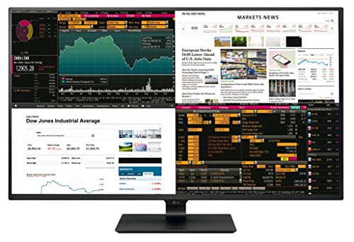 LG 43UD79 Monitor per PC Desktop da 43' 4K UltraHD LED IPS, 3840 x 2160, Display Port, 4 HDMI, USB-C, 2 Altoparlanti da 10 W, Nero