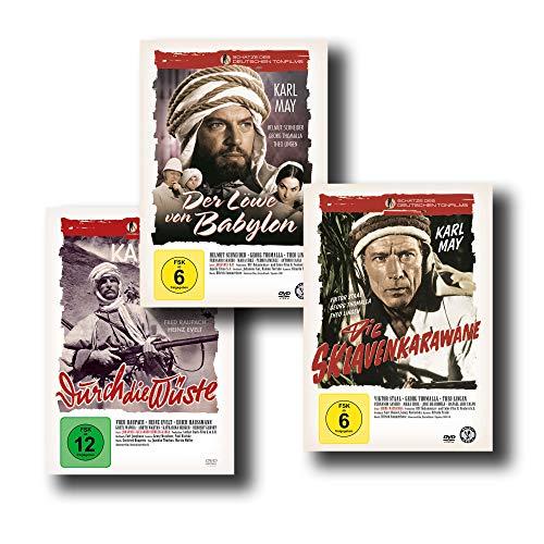 """Die besten Karl May Abenteuerfilme – Der Löwe von Babylon / Die Sklavenkarawane / Durch die Wüste [3-DVD-Set] """"Schätze des Deutschen Tonfilms"""""""