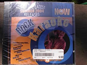 Sing It Now ROCK Hits Summer 2004 Karaoke CDG