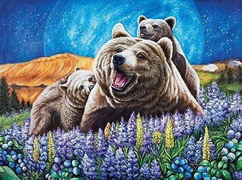 ahorra hasta un 50% azulberry Bears 1000pc Wild Country Series Puzzle Puzzle Puzzle by Lafayette Puzzle Factory  promociones de equipo
