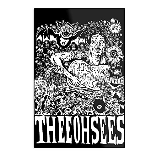 Psychedelic Oh Acid Grunge Music Garage Sees Thee Trip - The Best and Newest Poster for Wall Art Home Decor Room - Customize