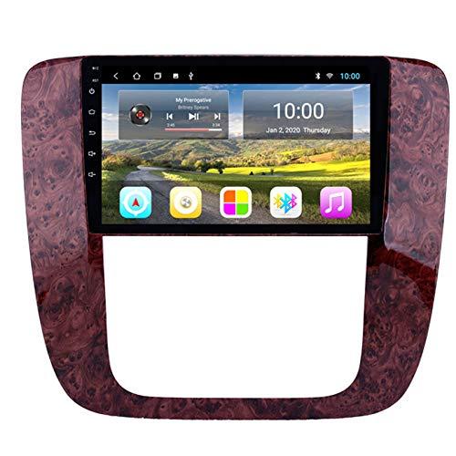 Android Autoradio Radio Double DIN Sat Nav para GMC 2007-2012 Navegación GPS 2.5D Pantalla Táctil Reproductor Multimedia FM Am DVD Video Receiver(Color:WiFi 1G+16G)