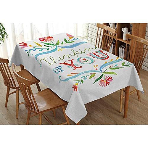 Li Huishoudelijke Decoratie Verse Plant Tafelkleed Thee Tafelkleed Tafelkleed Stofdicht Waterdicht Tafelkleed (Various Mates) (Kleur: 11, Maat : 110cm*140cm)