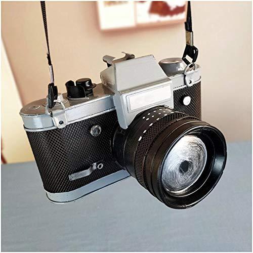 LUCKFY Retro Metal de Colección Modelo Cámara Antigua - Retro Modelo de cámara fotográfica - El fotógrafo de Regalos - Ideal para oficinas, Casas, Regalos y más