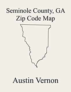 Seminole County, Georgia Zip Code Map: Includes Steam Mill, and Donalsonville