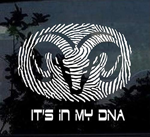 SUPERSTICKI Its My DNA compatibel voor Dodge Ram ca 20 cm Tuning Decal Racing Sport Sticker Muurtattoo