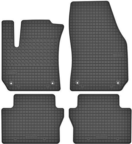 Motohobby Gummimatten Gummi Fußmatten Satz für Opel Zafira B (2005-2011) - Passgenau