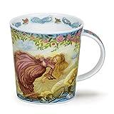Dunoon - Taza (porcelana), diseño de cuento de hadas, Porcelana de ceniza de hueso, Bella...