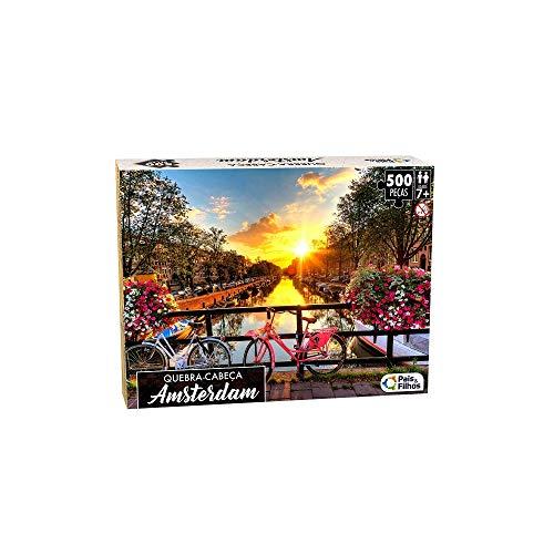 Quebra - Cabeça Amsterdam 500 Pçs - Premium