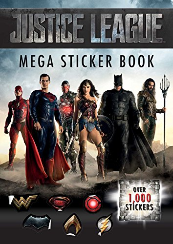 Justice League Mega Sticker Book