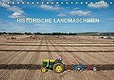 Historische Landmaschinen (Tischkalender 2019 DIN A5 quer): Fotos von alten Traktoren (Monatskalender, 14 Seiten )