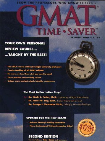 GMAT Time Saver : A Concise, Effective Review for the Graduate Management Admission Test (Professors Time Saver Study Guide Series)
