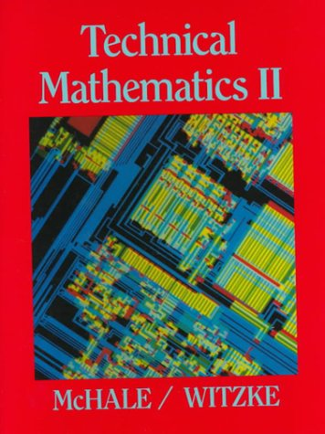 Technical Mathematics II (Vol 2)