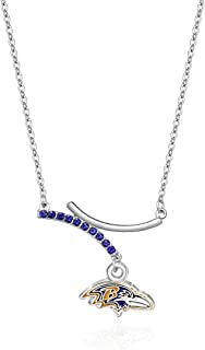 NFL Dual Infinity Necklace, , Sports Fan Jewelry Gift, Fashion Jewelry, Birthday & Holiday Gifts for Women and Girls