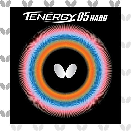 バタフライ(Butterfly) 卓球用裏ラバー テナジー05 ハード 06030 ブラック 特厚