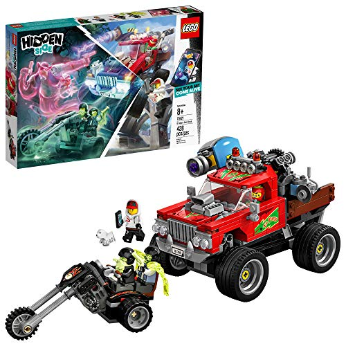 LEGO Hidden Side El Fuego?s Stunt Truck 70421 Building Kit, Ghost Playset for 8+ Year Old Boys and Girls, Interactive Augmented Reality Playset (428 Pieces)