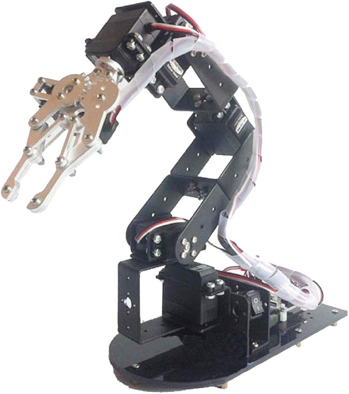 SM SunniMix 6DOF Full Full Full Metal Robotic Arm Servo