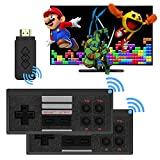 CICYSTORE Retro Game Console with 818 Retro Video Games, HDMI HD Output NES Retro Game Console Wireless, Old Arcade Plug and Play Video Games Console is an Ideal Gift Choice for Children and Adults