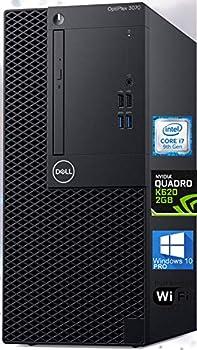 Dell Optiplex 3070 Mini-Tower Computer Intel i7-9700 Upto 4.7 GHz Nvidia Quadro K620 2GB 32GB RAM 1TB NVMe SSD AC Wi-Fi Bluetooth DisplayPort DVI HDMI DVD-RW - Windows 10 Pro