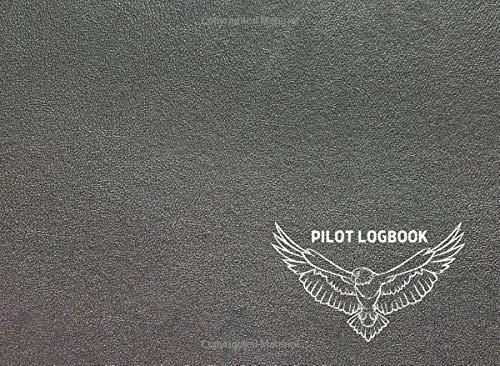 "Standard Drone Pilot Log: Drone Flight & Maintenance Logbook, Pilots Journal, pre-flight & post-flight checklists, Cute silver cover, 150 pages, Size 8.2"" x 6"""
