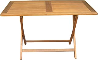 Amazon.fr : table bois exotique : Jardin