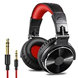 OneOdio Over Ear Headphone, Wired Bass Headsets with 50mm Driver, Foldable Lightweight Headphones