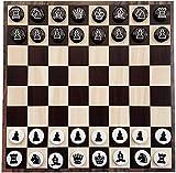 Ajedrez Juego de ajedrez magnético con piezas de ajedrez magnéticas de EVA y se puede enrollar Tablero de ajedrez de hierro suave, Juego de tablero de ajedrez para niños Juego de ajedrez (Color:J