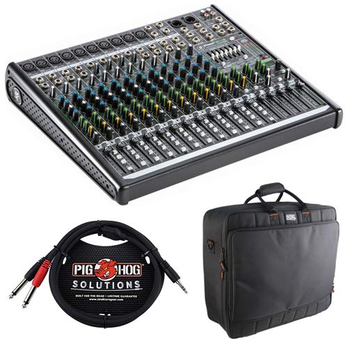 Great Features Of Mackie ProFX16v2 16-Channel Sound Reinforcement Mixer with Built-In FX, G-MIXERBAG...