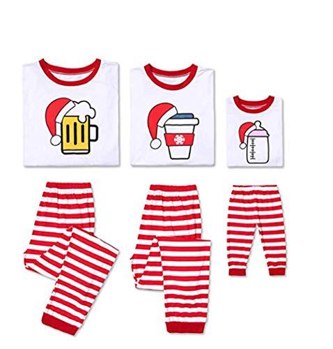 Conjunto de Pijamas Familiares de Navidad, Trajes Navideños para Mujeres Hombres Niño, Ropa Invierno Sudadera...