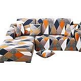 CXL Sofá de Cuero Doble combinación Triple Chaise Longue