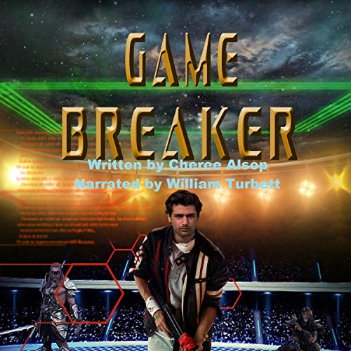 Game Breaker audiobook cover art