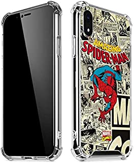 Skinit Clear Phone Case for iPhone XR - Officially Licensed Marvel/Disney Amazing Spider-Man Comic Design