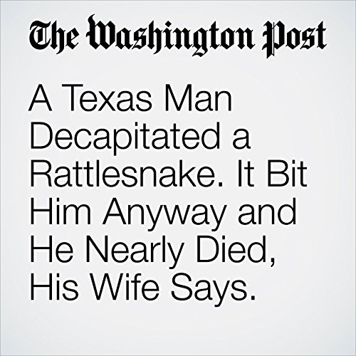 A Texas Man Decapitated a Rattlesnake. It Bit Him Anyway and He Nearly Died, His Wife Says. copertina