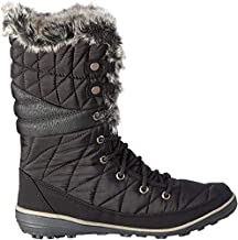 Columbia Women's Heavenly Omni-Heat Snow Boot, Black, Kettle, 8 Regular US