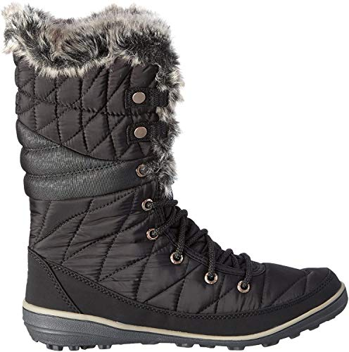 Columbia Heavenly Omni-Heat, Botas de Invierno para Mujer, Negro (Black, Kettle), 37 EU
