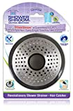 A Revolution in Drain Protection: Unlike regular plugs that go over the drain, ShowerShroom fits inside, neatly collecting hair around it. When it's time to clean up, simply wipe ShowerShroom off and GO! No harsh chemicals, no more tangled messes. No...