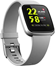 V12 Fitness & Health Smartwatch with Activity Tracker 24/7 Heart Rate Monitor Blood Oxygen Spo2 Scientific Sleep Monitor I...