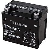 TAIWAN YUASA BATTERY ユアサ YTX5L-BS互換 バイク用 バッテリー 国内液入り 充電済み