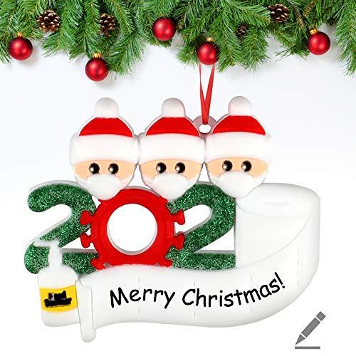 Decoraciones para árboles de Navidad Decoraciones para el hogar Que sobreviven a Las Decoraciones navideñas 2020 Adorno de árbol de Navidad