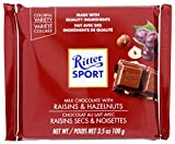 Ritter Sport, Raisin & Hazelnut Chocolate Bar, 3.5 oz