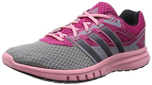 adidas Damen Galaxy 2 W Laufschuhe, Pink (Bopink/Cblack/Flare), 36 2/3 EU